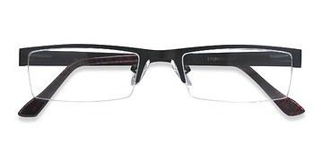 Black Malmo -  Metal Eyeglasses