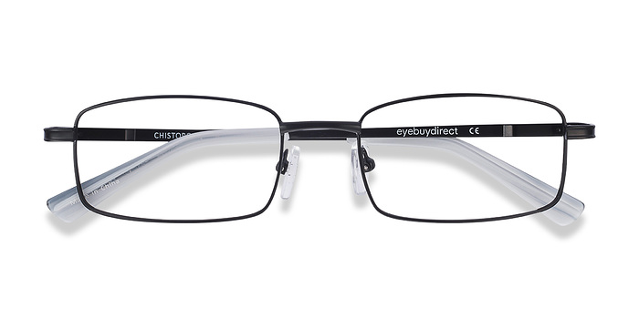 Black Chistopol -  Metal Eyeglasses