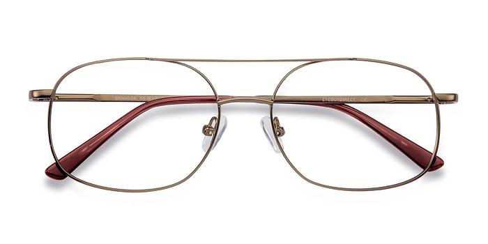 Bronze Branson -  Geek Metal Eyeglasses