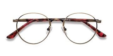 Bronze Fitzgerald -  Classic Metal Eyeglasses