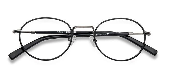 Black Voltaire -  Classic Metal Eyeglasses