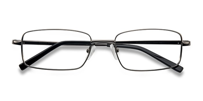 Gunmetal Oakland -  Metal Eyeglasses