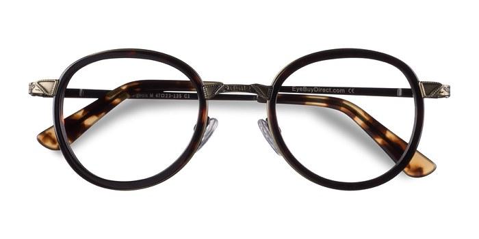 Tortoise Bourgeois -  Vintage Metal Eyeglasses