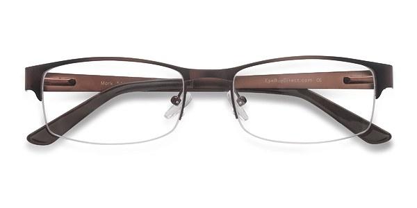 Mark Coffee Metal Eyeglasses EyeBuyDirect