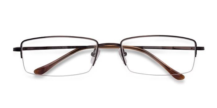 Brown Minneapolis -  Metal Eyeglasses