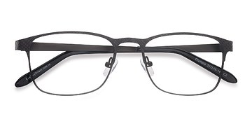 Gray Olympia -  Metal Eyeglasses