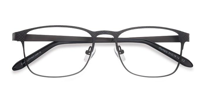 Gray Olympia -  Metal Eyeglasses