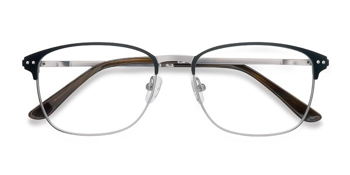 Black Gunmetal Arcadian -  Metal Eyeglasses