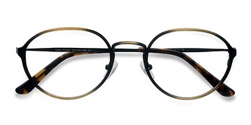 Bronze Come Around -  Classic Metal Eyeglasses