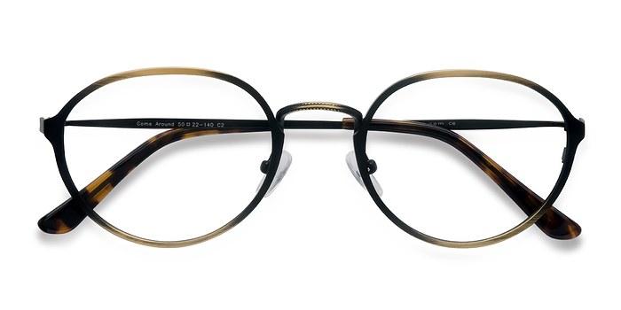 Bronze Come Around -  Classic Metal Eyeglasses