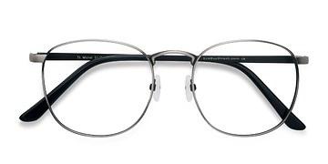 Gunmetal ST Michel -  Classic Metal Eyeglasses