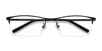 Black Vega -  Metal Eyeglasses
