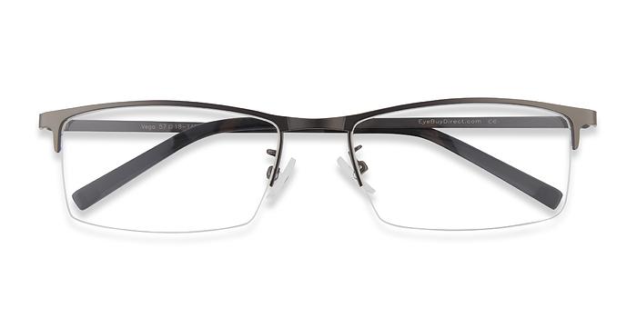 Gunmetal Vega -  Metal Eyeglasses