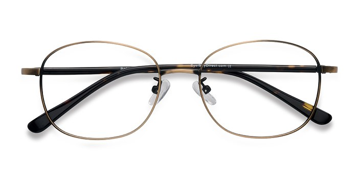 Bronze Behold -  Metal Eyeglasses