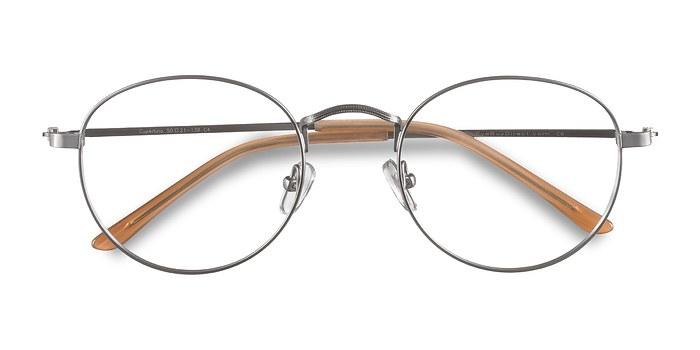 Silver  Cupertino -  Lightweight Metal Eyeglasses