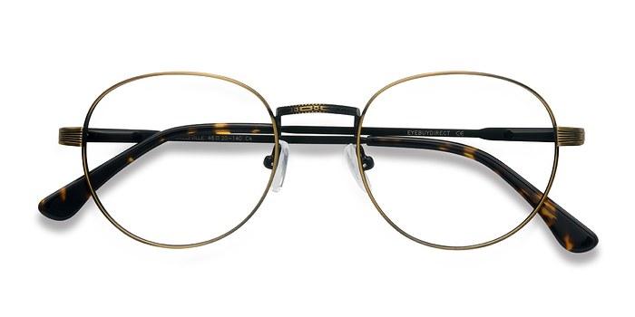 Bronze Belleville -  Vintage Metal Eyeglasses