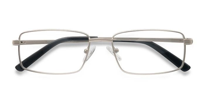 Matte Silver Parcel -  Acetate Eyeglasses