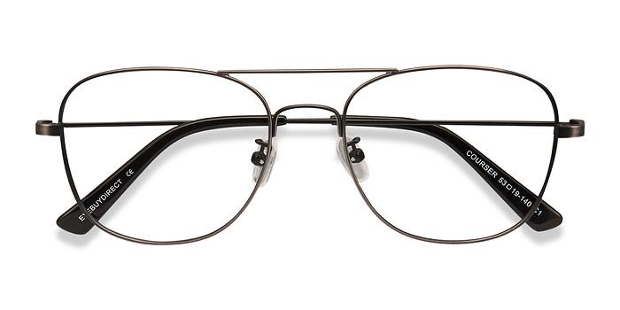 Gunmetal Courser -  Metal Eyeglasses