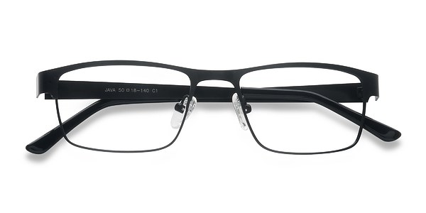 Java prescription eyeglasses (Black)