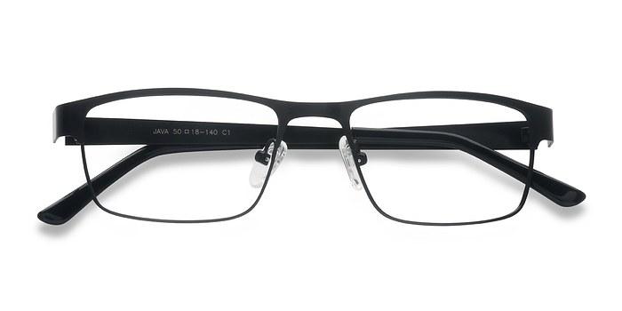 Black Java -  Metal Eyeglasses