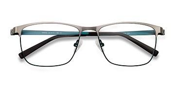 Gunmetal Pinion -  Metal Eyeglasses