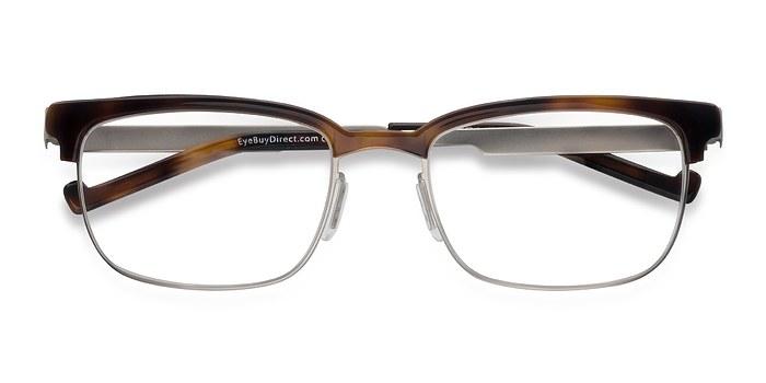 Tortoise Edgar -  Designer Acetate Eyeglasses