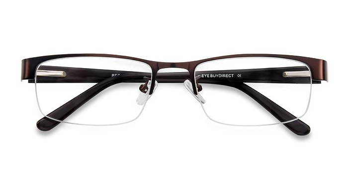 Coffee Beckett -  Classic Metal Eyeglasses