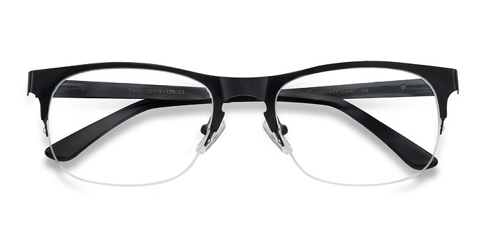 Black Farley -  Metal Eyeglasses