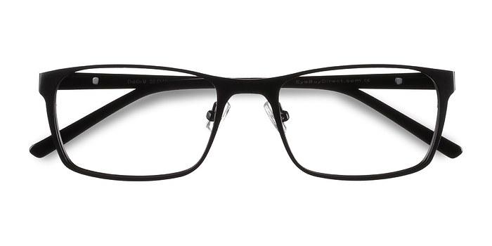 Matte Black Dublin -  Classic Metal Eyeglasses