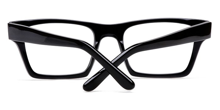 Black ROCK! Mike -  Geek Acetate Eyeglasses