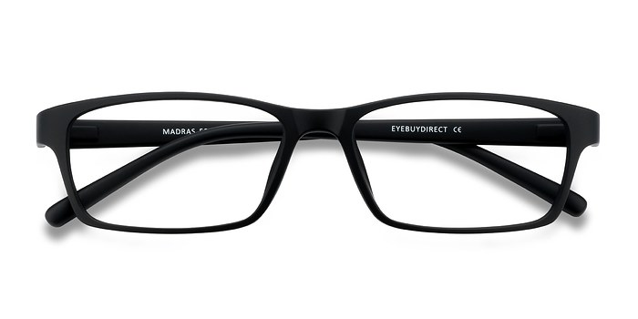 Black Madras -  Lightweight Plastic Eyeglasses