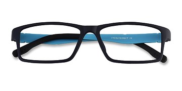Navy Bandon -  Lightweight Plastic Eyeglasses