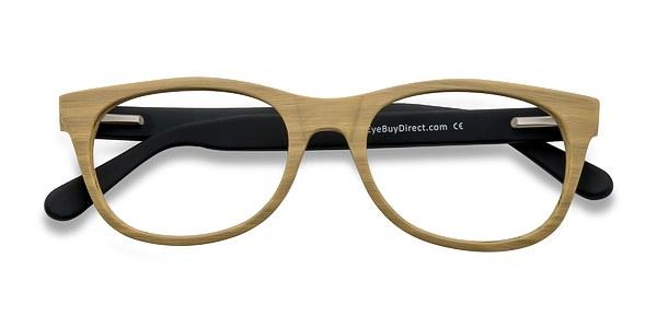 Panama prescription eyeglasses (Wood)