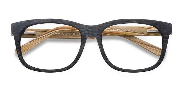 Black White pine -  Geek Acetate Eyeglasses