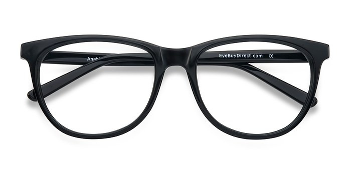 Black Anahi -  Fashion Acetate Eyeglasses