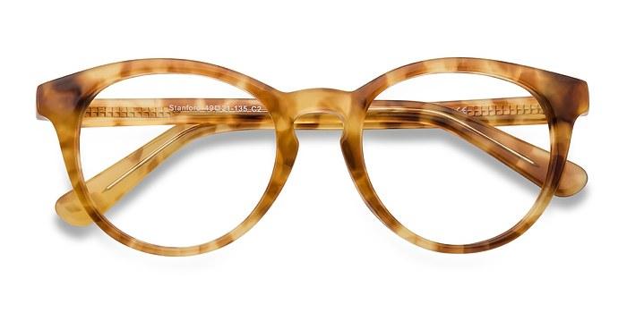 Brown/Tortoise Stanford -  Classic Acetate Eyeglasses
