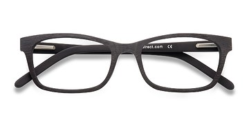 Coffee Mesquite -  Classic Wood Texture Eyeglasses
