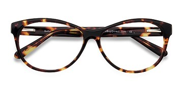Tortoise Sofia -  Fashion Acetate Eyeglasses