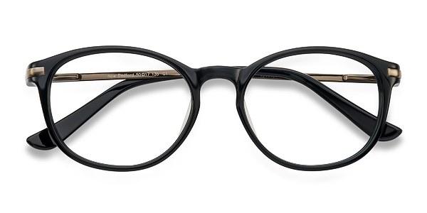 new bedford black acetate eyeglasses eyebuydirect