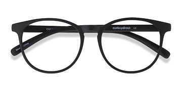 Black Chilling -  Geek Plastic Eyeglasses
