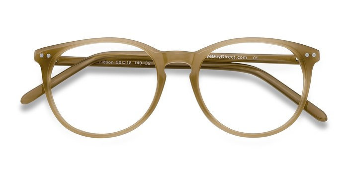 Taupe Fiction -  Classic Acetate Eyeglasses
