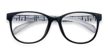 Black  Warren -  Fashion Plastic Eyeglasses