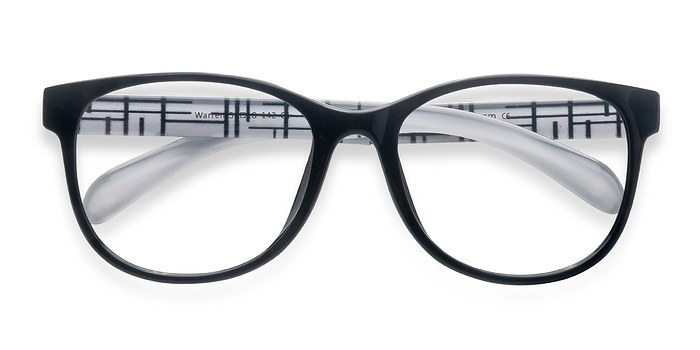 Black  Warren -  Fashion Plastic Eyeglasses