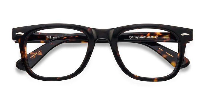 Dark Tortoise Blizzard -  Geek Acetate Eyeglasses