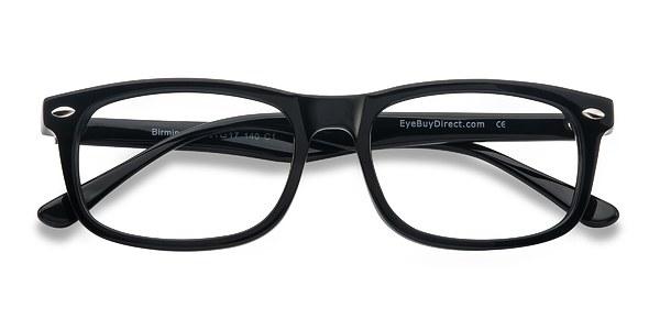 Birmingham prescription eyeglasses (Black)