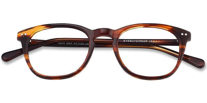 Brown New Day -  Geek Acetate Eyeglasses