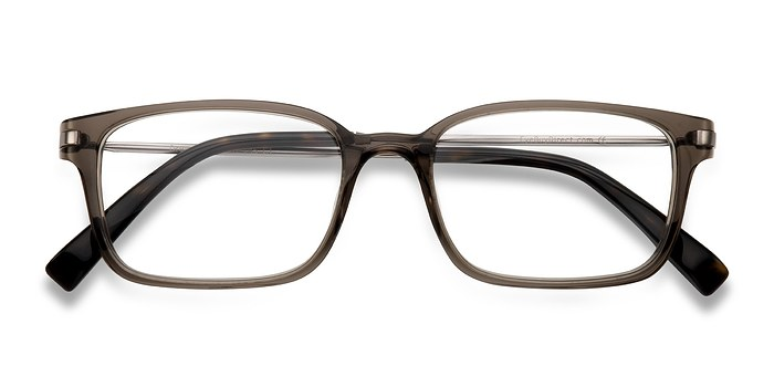 Clear/Gray Dreamer -  Designer Acetate Eyeglasses