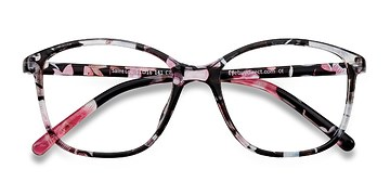 Red/Floral Saint Lou -  Fashion Plastic Eyeglasses