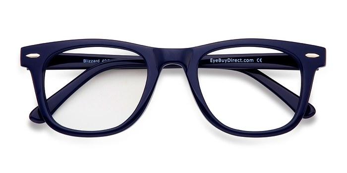 Navy Blizzard -  Fashion Acetate Eyeglasses