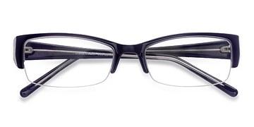 Navy Diane -  Plastic Eyeglasses